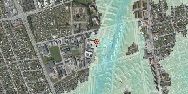 Stomflod og havvand på Arnold Nielsens Boulevard 66A, 2650 Hvidovre