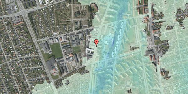Stomflod og havvand på Arnold Nielsens Boulevard 66B, 2650 Hvidovre