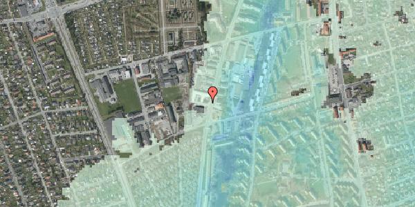Stomflod og havvand på Arnold Nielsens Boulevard 70, 2650 Hvidovre