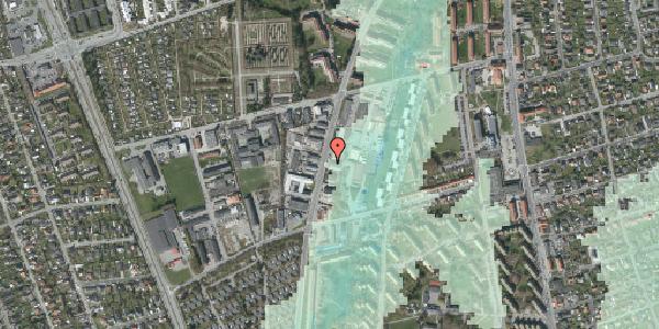Stomflod og havvand på Arnold Nielsens Boulevard 71, 2650 Hvidovre