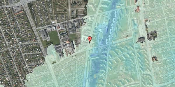 Stomflod og havvand på Arnold Nielsens Boulevard 72, 2650 Hvidovre