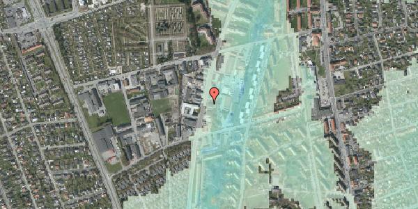 Stomflod og havvand på Arnold Nielsens Boulevard 73, 2650 Hvidovre
