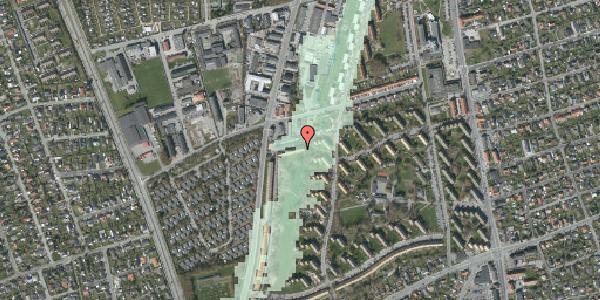 Stomflod og havvand på Arnold Nielsens Boulevard 89B, 2650 Hvidovre