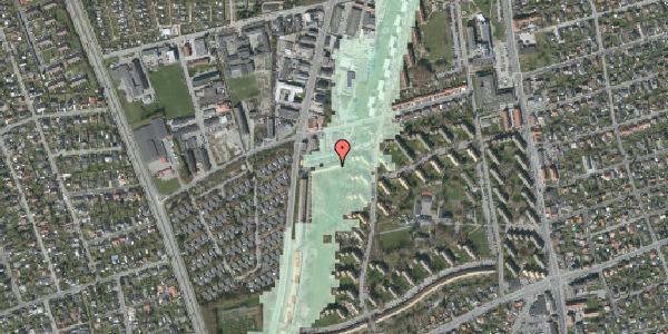 Stomflod og havvand på Arnold Nielsens Boulevard 91A, 2650 Hvidovre