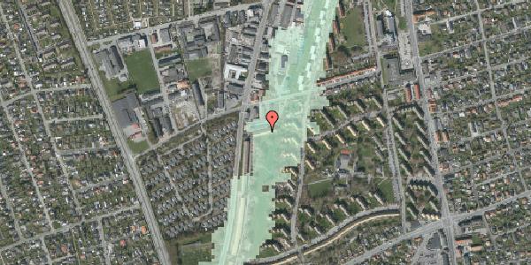 Stomflod og havvand på Arnold Nielsens Boulevard 95B, 2650 Hvidovre