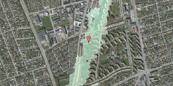 Stomflod og havvand på Arnold Nielsens Boulevard 97B, 2650 Hvidovre