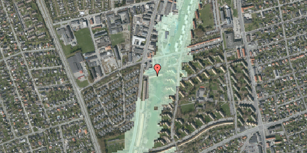 Stomflod og havvand på Arnold Nielsens Boulevard 99B, 2650 Hvidovre