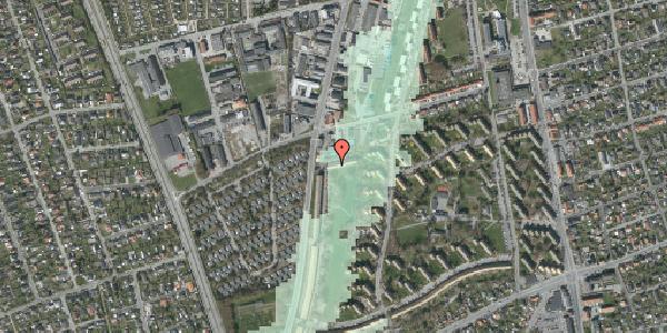 Stomflod og havvand på Arnold Nielsens Boulevard 103A, 2650 Hvidovre