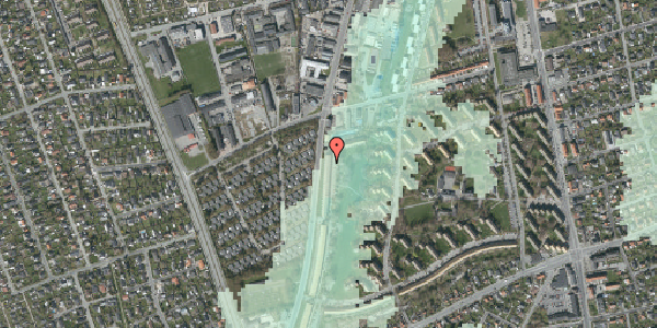Stomflod og havvand på Arnold Nielsens Boulevard 109, 1. tv, 2650 Hvidovre