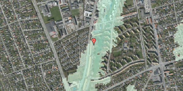 Stomflod og havvand på Arnold Nielsens Boulevard 117, st. tv, 2650 Hvidovre
