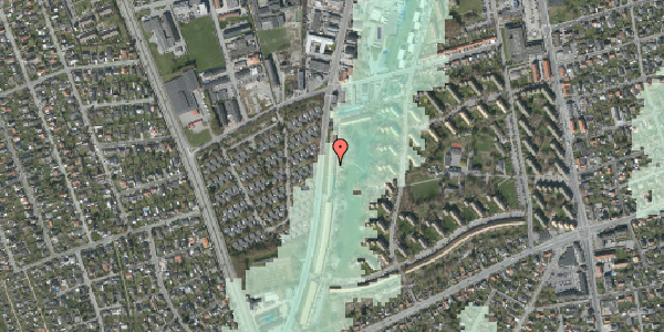 Stomflod og havvand på Arnold Nielsens Boulevard 119, 1. tv, 2650 Hvidovre