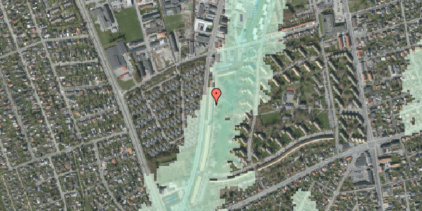Stomflod og havvand på Arnold Nielsens Boulevard 121, 1. tv, 2650 Hvidovre