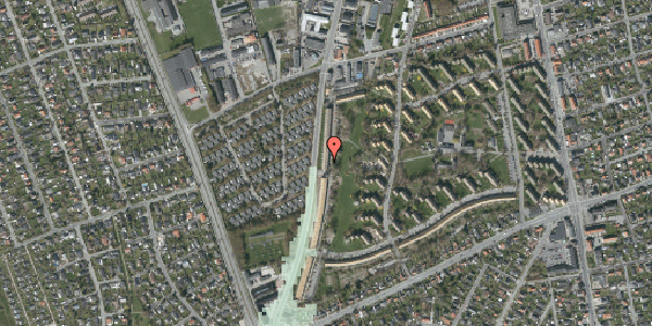 Stomflod og havvand på Arnold Nielsens Boulevard 127, st. th, 2650 Hvidovre