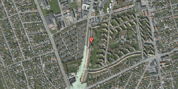 Stomflod og havvand på Arnold Nielsens Boulevard 127, 2. tv, 2650 Hvidovre