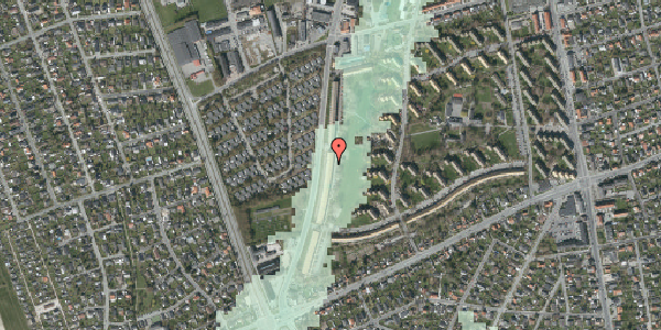 Stomflod og havvand på Arnold Nielsens Boulevard 135, st. tv, 2650 Hvidovre