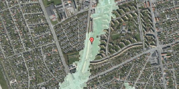 Stomflod og havvand på Arnold Nielsens Boulevard 137, 1. tv, 2650 Hvidovre