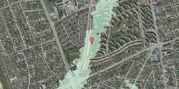 Stomflod og havvand på Arnold Nielsens Boulevard 141, 2. tv, 2650 Hvidovre