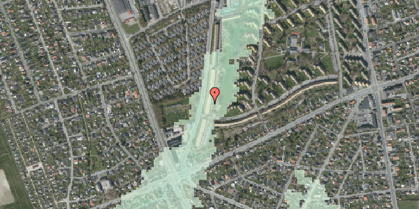 Stomflod og havvand på Arnold Nielsens Boulevard 153, st. th, 2650 Hvidovre