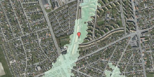 Stomflod og havvand på Arnold Nielsens Boulevard 153, 3. tv, 2650 Hvidovre
