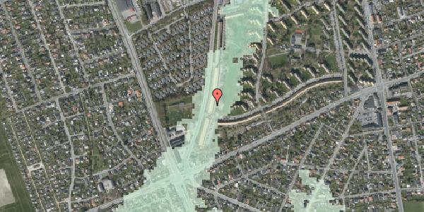 Stomflod og havvand på Arnold Nielsens Boulevard 155, 2. tv, 2650 Hvidovre
