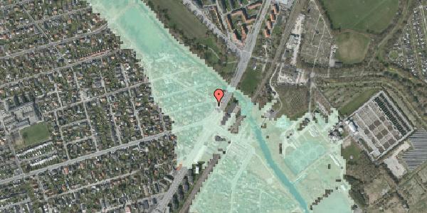 Stomflod og havvand på Asminderødvej 1, kl. , 2650 Hvidovre
