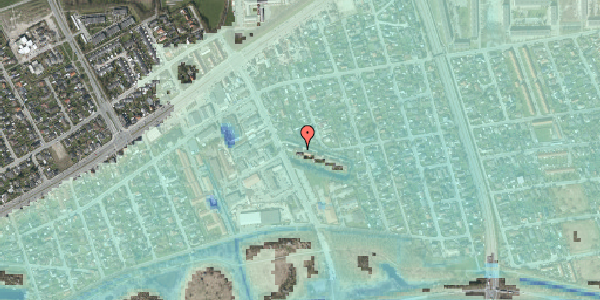 Stomflod og havvand på Batterivej 4, 2650 Hvidovre