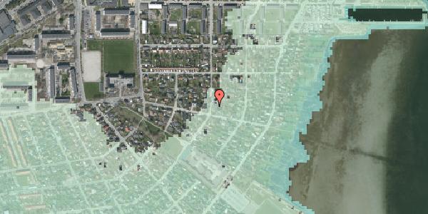 Stomflod og havvand på Bavnevej 33, 2650 Hvidovre