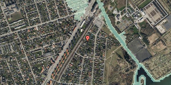 Stomflod og havvand på Beringgårdsvej 9, 2650 Hvidovre