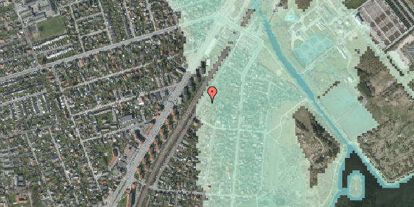 Stomflod og havvand på Beringgårdsvej 17, 2650 Hvidovre