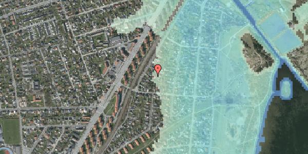 Stomflod og havvand på Beringgårdsvej 45A, 2650 Hvidovre