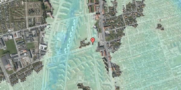 Stomflod og havvand på Bibliotekvej 4, 2650 Hvidovre