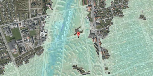 Stomflod og havvand på Bibliotekvej 19, 2650 Hvidovre