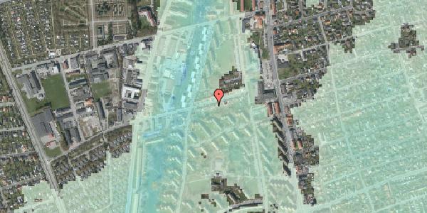 Stomflod og havvand på Bibliotekvej 25, 2650 Hvidovre