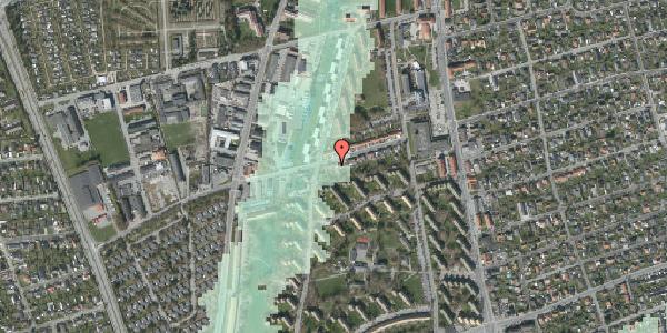 Stomflod og havvand på Bibliotekvej 33, 2650 Hvidovre