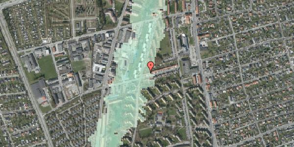Stomflod og havvand på Bibliotekvej 40, 2650 Hvidovre