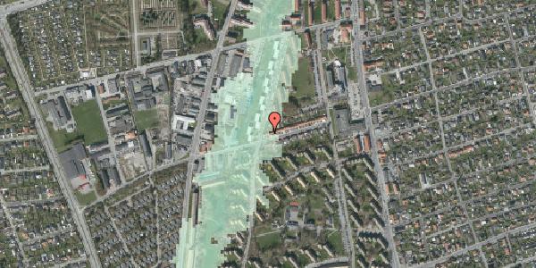 Stomflod og havvand på Bibliotekvej 42, 2650 Hvidovre