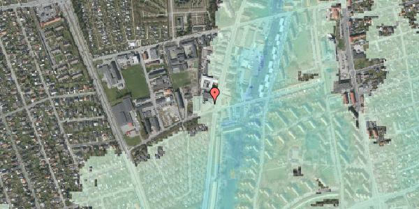 Stomflod og havvand på Bibliotekvej 56, 2650 Hvidovre