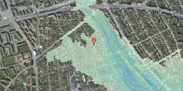 Stomflod og havvand på Birke Alle 16A, 2650 Hvidovre