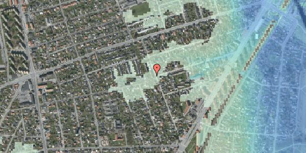 Stomflod og havvand på Bjergagervej 39A, 2650 Hvidovre