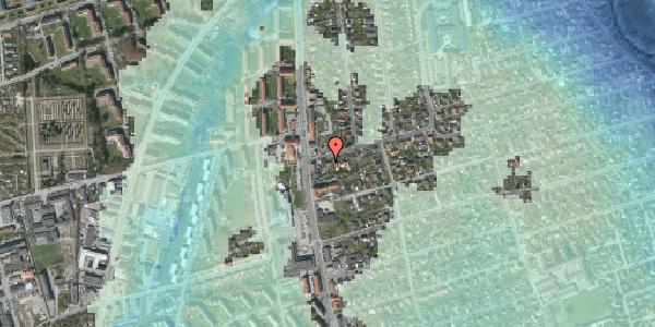 Stomflod og havvand på Bjeverskov Alle 4, 2650 Hvidovre