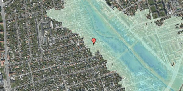 Stomflod og havvand på Bjeverskov Alle 55, 2650 Hvidovre
