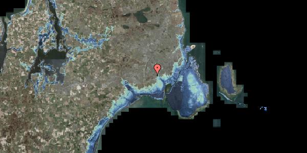 Stomflod og havvand på Bliskær 8, 2650 Hvidovre