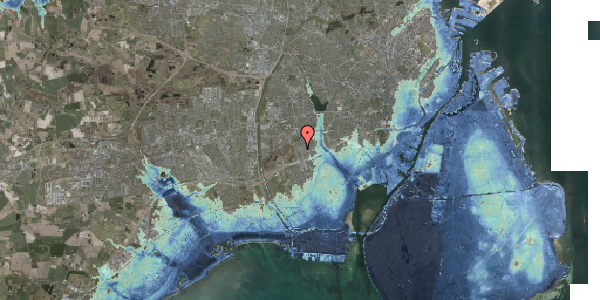 Stomflod og havvand på Bliskær 13, 2650 Hvidovre