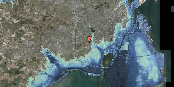 Stomflod og havvand på Bliskær 14, 2650 Hvidovre