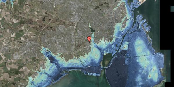 Stomflod og havvand på Bliskær 17, 2650 Hvidovre