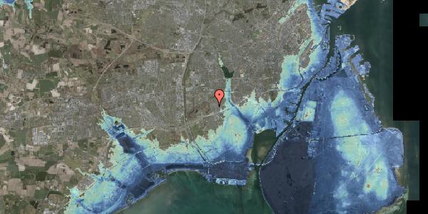 Stomflod og havvand på Bliskær 32, 2650 Hvidovre