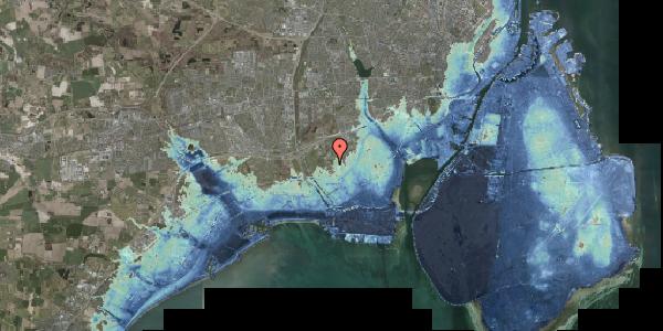 Stomflod og havvand på Byvej 98, 2650 Hvidovre