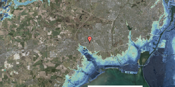 Stomflod og havvand på Albertslundvej 53, 2. th, 2625 Vallensbæk