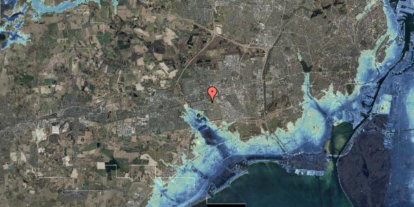 Stomflod og havvand på Albertslundvej 59, st. mf, 2625 Vallensbæk