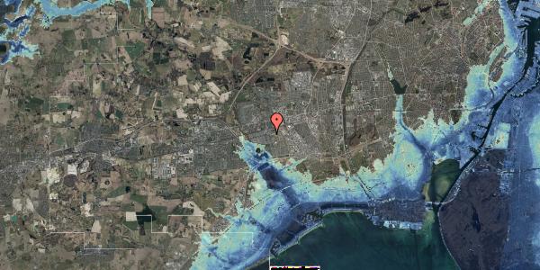 Stomflod og havvand på Albertslundvej 65, 1. mf, 2625 Vallensbæk
